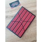 Подпятник полимерный X01 Красный