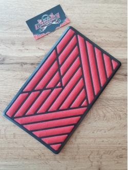 Подпятник полимерный V01 Красный