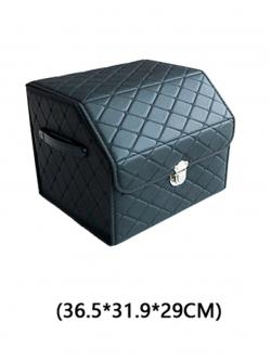 Автобокс в багажник экокожа 36х32х29 HT093