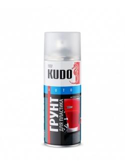 Грунт-эмаль для пластика прозрачный (активатор адгезии) 520мл Kudo