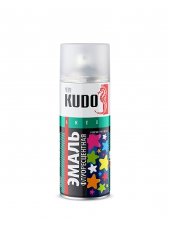 Эмаль флуоресцентная розовая 520мл Kudo