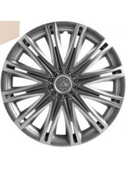 Колпаки колесные 13 Скай, серебристый  4шт