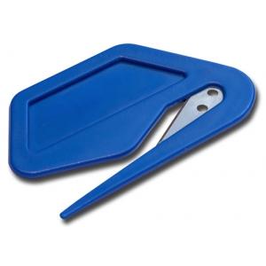 Нож Улитка синий, для пленок и бумаг Русский Мастер