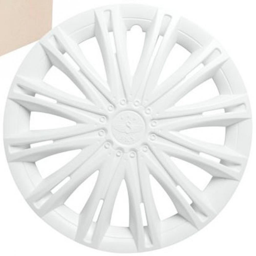 Колпаки колесные 15 Скай, белый,  4шт