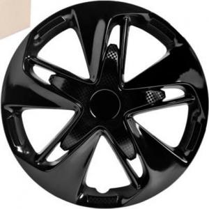 Колпаки колесные 16 Супер Астра, черный глянец, карбон, 4шт