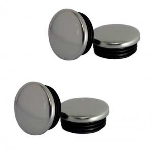 Колпачок на литье хром универсальный d 52-56 (4шт)