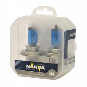 Лампа Narva Н4 12v (60/55w) Range Power White (2шт)