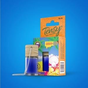 Ароматизатор Tensy  (бутылочка с деревян.крышкой) Океан
