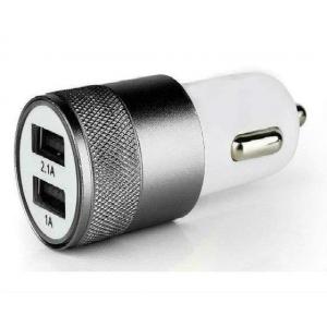 Адаптер 2 USB круглый