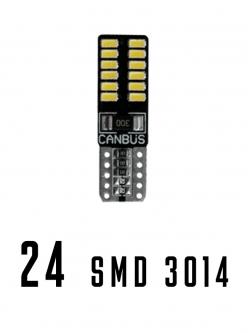 Лампа светодиодная Т10 SMD24 (3014)