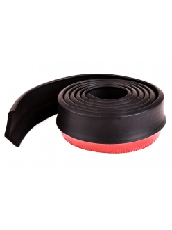 Резина для отделки бампера авто черная 2,5мх4см