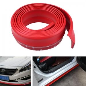 Резина для отделки бампера авто красная 2,5мх4см