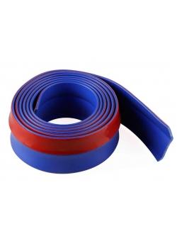 Резина для отделки бампера авто синяя 2,5мх4см