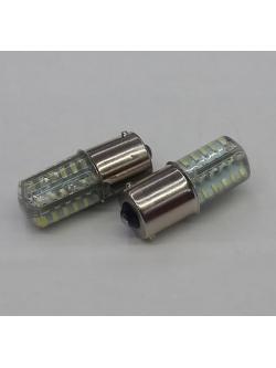 Лампа светодиодная (1 конт), 48 SMD, силикон, BA15s