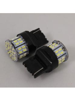 Лампа светодиодная Т20 б/цок, 1 конт, 50 диод, белая