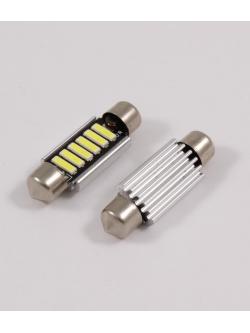 Лампа светодиодная 11-39 биполярная 40мм, обманка, радиатор