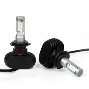 Лампы LED S1 H7 6000k (2шт)
