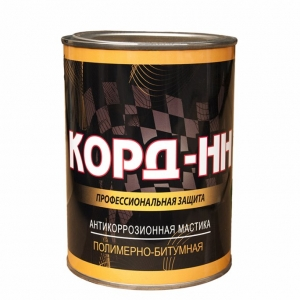 Мастика КОРД-НН полимерно-битумная 1кг ж/б