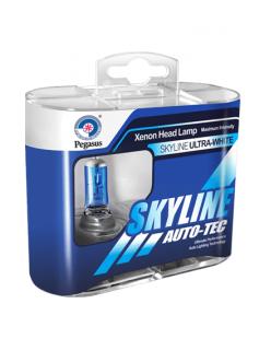 Лампа SkyLine Н3 5500K 12v 55w(2шт)