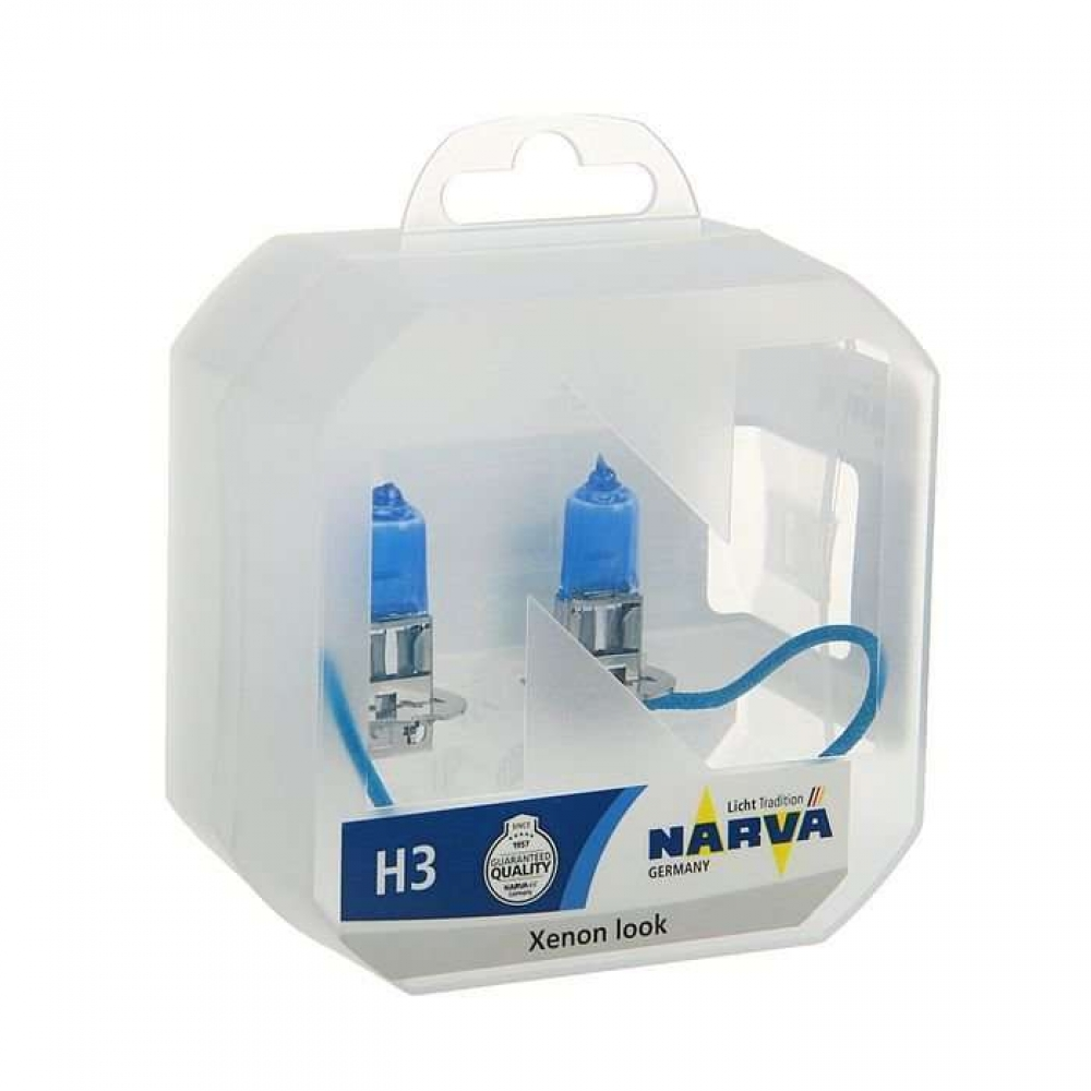 Лампа Narva Н3 12v (55w) Range Power White (2шт)