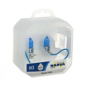 Лампа Narva Н3 12v (55w) Range Power White (2шт)