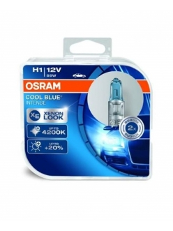 Лампа Osram Н1 12v (55w) Cool Blue Intense (2шт)