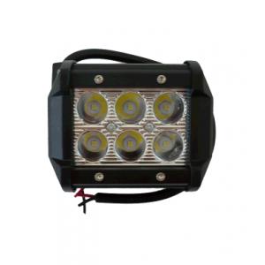Светодиодная фара Off-Road, 6х3W (Cree LED), 18w, 1260Lm, направленный свет, 95*60*75мм
