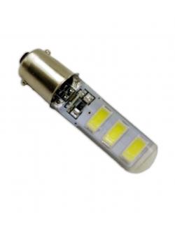 Лампа светодиодная Т8,5 SMD6 (5730), в силиконе BA9s