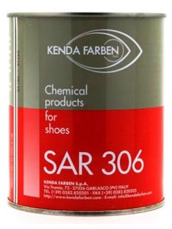 Клей жидкий SAR 306 ЧЕРНЫЙ термоактивируемый полиуретановый 1кг