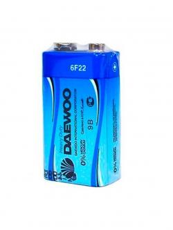 Батарея 6F22 DAEWOO 9V