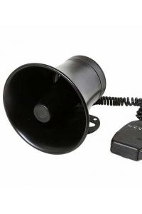 Сирена с микрофоном 3х тональная СГУ 30w
