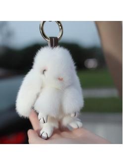 Брелок  Кролик белый