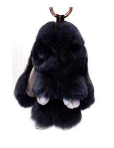 Брелок  Кролик черный