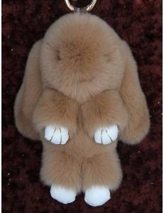 Брелок  Кролик светло-коричневый