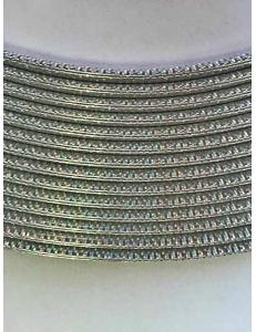 Кант хром перелив мелкий U-образный