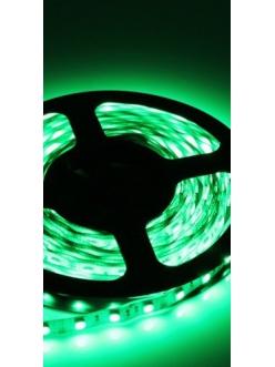 Светодиодная лента влагозащищенная зеленая