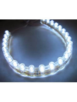 Светодиодная лента 24 LED , 24 см, белая