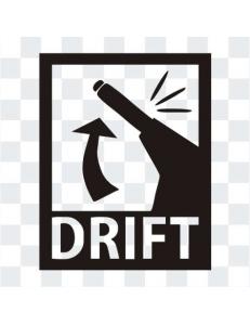 DRIFT  наклейка