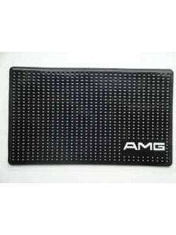 Нано-коврик на панель противоскользящий с логотипом AMG