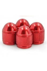 Колпачки на ниппель красные (закругленные)