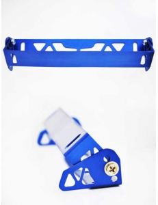 Рамка с регулировкой наклона номера Синяя