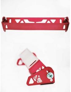 Рамка с регулировкой наклона номера Красная