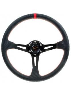 Спортивный руль с выносом, 35см