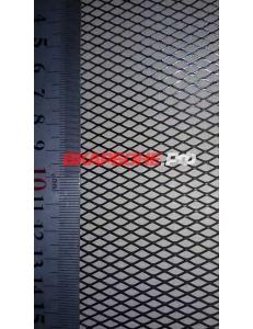 Сетка радиатора 25х100см черная мелкая ячейка