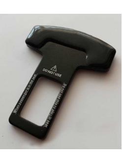 Заглушка замка ремня безопасности металл