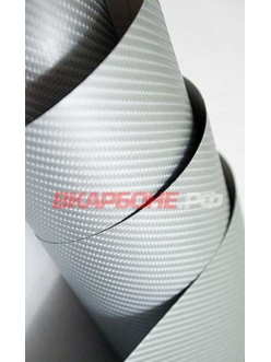 Серебристый 4Д карбон