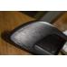 Пленка с текстурой шлифованного алюминия Черная