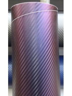 Фиолетовый хамелеон 3Д Карбон