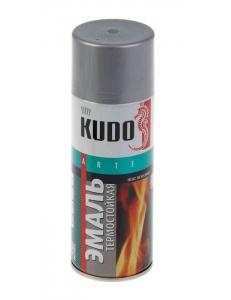 Эмаль термостойкая Серебро Kudo
