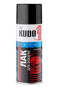 Лак для фонарей тонировочный Черный 520мл Kudo